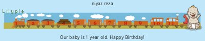 Lilypie First Birthday (4MHZ)