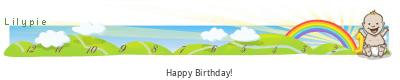 Lilypie First Birthday (552u)