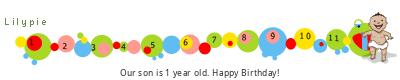 Lilypie First Birthday (6LMP)