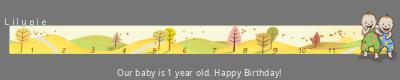 Lilypie First Birthday (7mql)