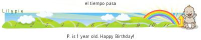 Lilypie First Birthday (AOt9)