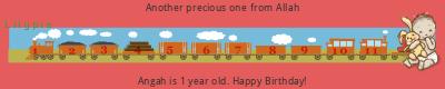 Lilypie First Birthday (BR89)