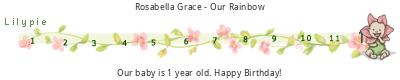 Lilypie First Birthday (G4ZA)
