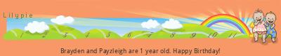 Lilypie First Birthday (RLyk)