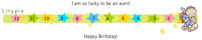 Lilypie First Birthday (Uj8t)