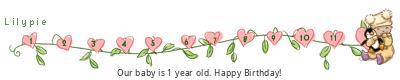 Lilypie First Birthday (cyyi)
