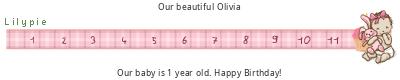 Lilypie First Birthday (grBm)