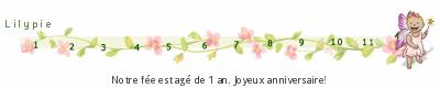 tickers Lilypie Premier anniversaire