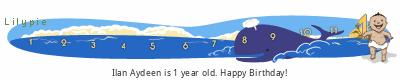 Lilypie First Birthday (r4j9)