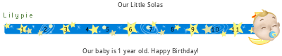 Lilypie First Birthday (ZLYt)